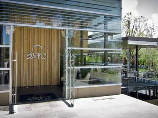 SATO Restaurante: Comedores de estilo  por Taller5 Arquitectos