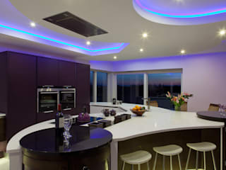 Contemporay Kitchen Ireland 現代廚房設計點子、靈感&圖片 根據 Designer Kitchen by Morgan 現代風