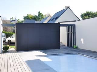Des pool-house aussi ! Piscine par Wellhome - Bebamboo