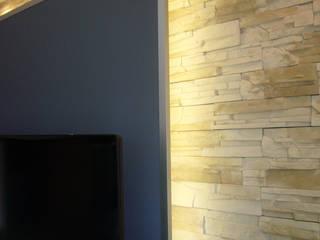 raum² - wir machen wohnen Salas multimedia de estilo moderno