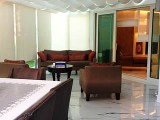 Plaza Yapı Malzemeleri – Uğur B. Evi:  tarz Oturma Odası