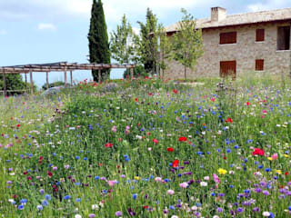 Giardini di campagna Giardino in stile rustico di Lucio Piunti Rustico