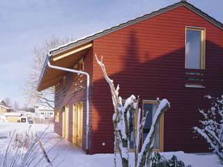 Haus Pohl:  Terrasse von FinsterwalderArchitekten