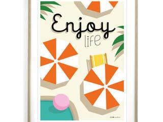 Affiche Enjoy life:  de style  par Fifi Mandirac