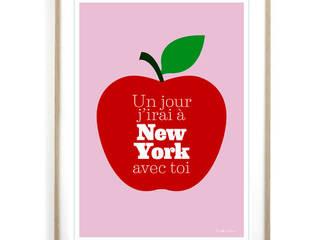 Affiche Un jour j'irai à New York avec toi:  de style  par Fifi Mandirac