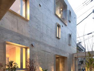ヨツヤ・テネラ ミニマルな 家 の KEY OPERATION INC. / ARCHITECTS ミニマル