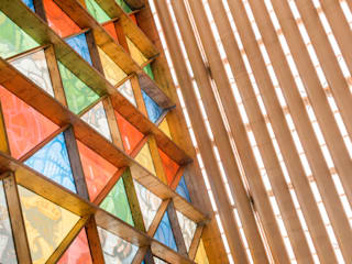 ​Cardboard Cathedral by 坂茂建築設計 (Shigeru Ban Architects)