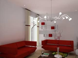 Vue en 3D d'appartements:  de style  par D.DESIGN,