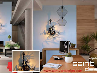 luminaires DESIGN par SAINT YORK DESIGN Moderne