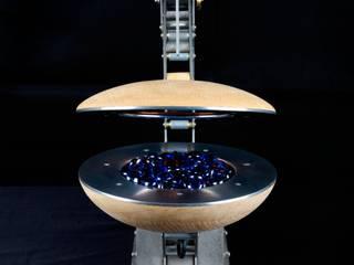 Clamshell Alchemist lamp: industrial  by BLOTT WORKS, Industrial