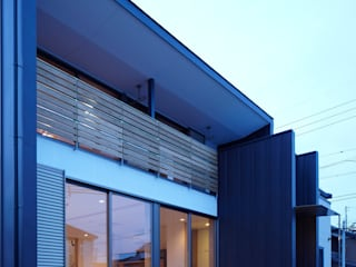 Eclectic style houses by Osamu Sano Architect & associates Eclectic