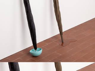 """""""CUP"""" : Ingresso, Corridoio & Scale in stile  di Alessandro Busana Designstudio"""