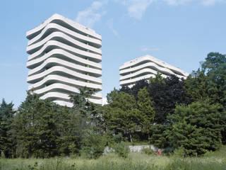 Logements ZAC du coteau à Arcueil:  de style  par ECDM Architectes