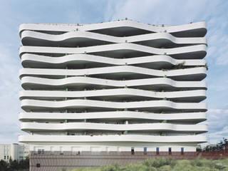 Logements ZAC du coteau à Arcueil par ECDM Architectes