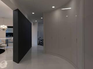 Couloir, entrée, escaliers modernes par studiodonizelli Moderne
