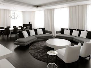 Modern Living Room by ANG42 Modern