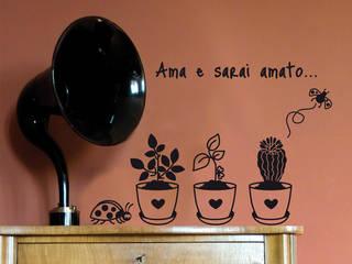Wall stickers, adesivi per pareti di Decoramo Eclettico