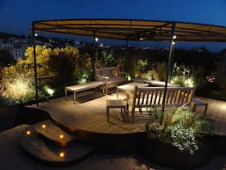 sabigarden Balconies, verandas & terraces Lighting