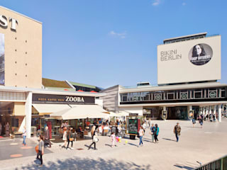 Bikini Berlin:  Einkaufscenter von Hild und K Architekten BDA
