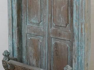 Vintage-Türen und -Fenster aus Indien von Guru-Shop Asiatisch