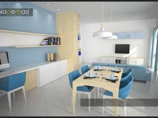 Salones de estilo  de melania de masi architetto,