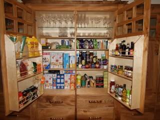 Bespoke kitchen cabinets:   by Break The Mould Furniture