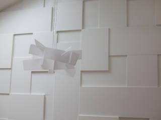 WALL GAME Paredes y pisos de estilo minimalista de ANDRE VENTURA DESIGNER Minimalista