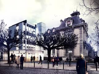 Extension de la mairie de Brunoy :  de style  par Graal Architecture