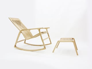 Kinetic Line_Rocking Chair: ARTIZAC의