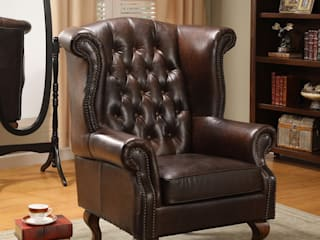 Chesterfield Sofa & Leather Furniture from Locus Habitat Locus Habitat WoonkamerSofa's & fauteuils
