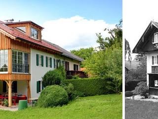 Sanierung und Erweiterung historische Doppelhaushälfte in Münsing am Starnberger See von Planungsbüro Schilling Landhaus