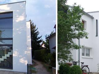 Umbau und energetische Sanierung Reiheneckhaus München-Feldmoching: modern  von Planungsbüro Schilling,Modern