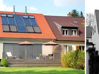 Umbau und energetische Sanierung Doppelhaushälfte Schlehenstraße München-Freimann: modern  von Planungsbüro Schilling,Modern