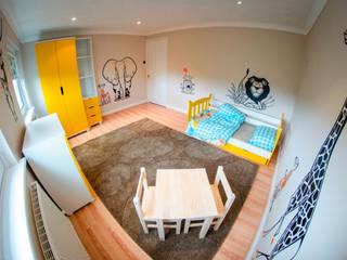 kit savane de stickers pour chambre enfants par E-GLUE - Stickers Muraux et Papier-Peints Enfants Éclectique