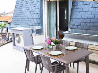 Klasik Balkon, Veranda & Teras Espaces à Rêver Klasik