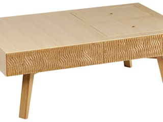 "Table basse ""Maria"" par Magali Senaux Moderne"