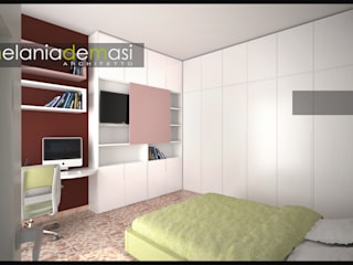 Dormitorios de estilo  de melania de masi architetto,