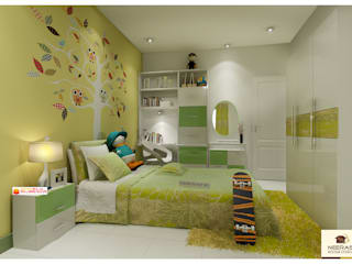 Neeras Kids Room:  Nursery/kid's room by Neeras Design Studio