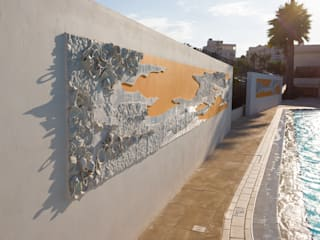 Tam e(s)t maintenant- topographie de l'imaginaire Piscine minimaliste par Paulina Okurowska Minimaliste