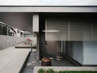 外観: JWA,Jun Watanabe & Associatesが手掛けたリビングです。,