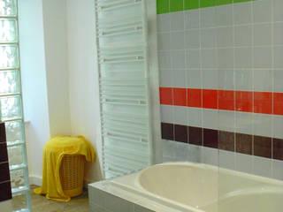Salle de bain commune: Couloir et hall d'entrée de style  par Victoria Paulus