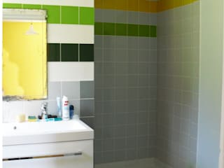 Salle de bain parentale: Couloir et hall d'entrée de style  par Victoria Paulus