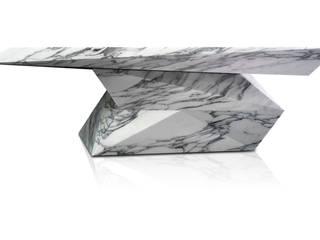 Loris, un tavolo nascosto nel marmo:  in stile  di michbold