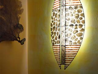 Schild-Lampenschirme Koloniale Badezimmer von espo-leuchten Kolonial