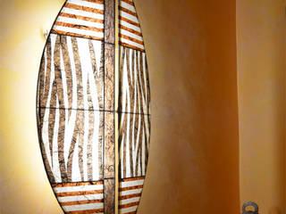 Schild-Lampenschirme espo-leuchten Koloniale Badezimmer Mehrfarbig