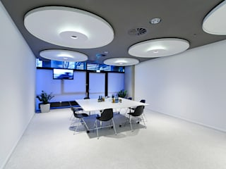 Business Area Olympiahalle München:  Bürogebäude von Andreas J. Focke Architekturfotografie