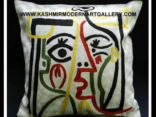 picasoo cushioncovers: modern  by kashmir modernart gallery,Modern