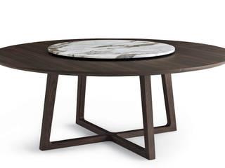 Collection table Concorde pour Poliform:  de style  par agence Emmanuel Gallina