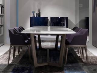 Concorde Table, Grace Chair:  de style  par agence Emmanuel Gallina