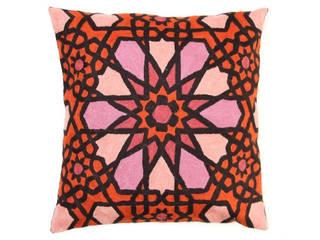 crewel pillows:  Garden  by kashmir modernart gallery